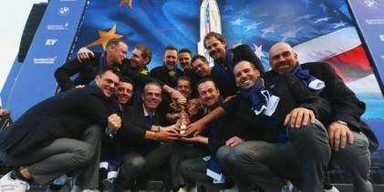 La RYDER se queda en CASA. Extraordinaria victoria de Europa ante EE.UU. en Gleneagles 16 ½ – 11 ½
