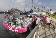 El pimer equipo femenino de la Volvo Ocean Race desde 2001-2002 ya está en Alicante