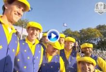 """""""The Guardians of The Ryder Cup"""", atracción con sus cánticos. Sergio tiene su copla (VÍDEO)"""