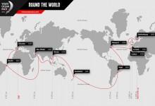 11 puertos y 38.739 millas náuticas. Eso es lo que les espera a los regatistas