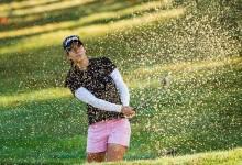 Azahara Muñoz es tercera en el ecuador del Taiwán Championship