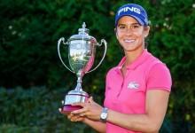 12 meses después, Azahara Muñoz repite su gesta: campeona del Open de Francia. Hernández acabó 2ª