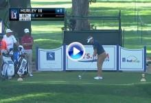 El PGA Tour vivió su primer «Ace» de la temporada. Hierro 6 para Hurley desde 164 metros (VÍDEO)