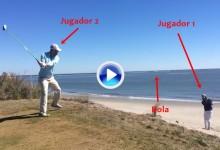 Los hermanos Bryan se fueron a la playa y se sacaron este increíble golpe de fantasía (VÍDEO)