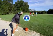 Espectacular la nueva entrega de los Bryan Bros. uniendo Golf y Basket en sus Trick Shots (VÍDEO)