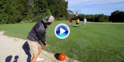 Espectacular la nueva entrega de los hermanos Bryan uniendo Golf y Basket en sus Trick Shots (VÍDEO)