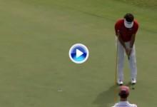 Bubba Watson perdió en el PlayOff el 32 PGA Grand Slam de Golf al fallar este putt de un metro (VÍDEO)