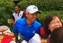 La humedad y el calor no pueden con Sergio García en Malasia donde ya es tercero
