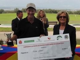 Victoria épica Pedro Linhart en el Campeonato de España de Profesionales Senior
