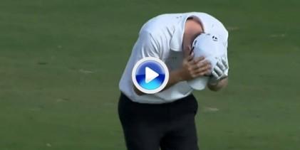 ¡Wow! David Hearn embocó directamente la bola en la cazoleta del hoyo desde 90 metros (VÍDEO)