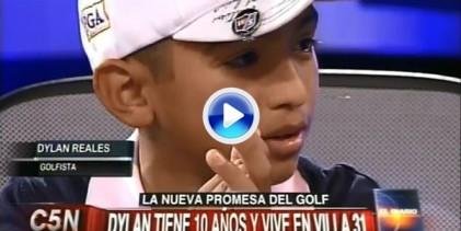 No se pierdan la emotiva entrevista a Dylan, la joven promesa argentina de 10 años (VÍDEO)