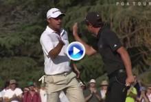 Echenique y Domínguez se apuntan la victoria en la America's Golf Cup con eagle en el hoyo 72 (VÍDEO)