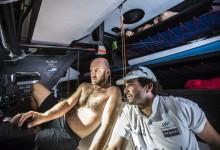 Abu Dhabi Ocean Racing gana la lotería de los imprevisibles Doldrums