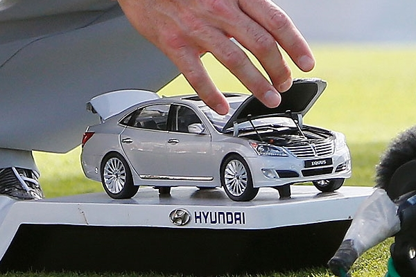 Hyundai Tournament of Champions Tee de Salida