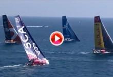 Así se vivió la In-Port Race Alicante donde ganó Alvimédica y el MAPFRE español fue 3º (VÍDEO)