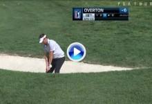 Golpe del Día: Bonito golpe de Jeff Overton desde uno de los bunkers para eagle (VÍDEO)