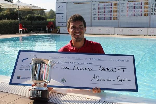 Juan Antonio Bragulat conquista el Abruzzo Open, último torneo de la temporada 2014 del Alps Tour