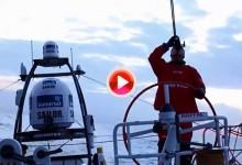El MAPFRE Cruza el estrecho y se prepara para afrontar su paso por las Canarias (VÍDEO)