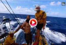 Con pescado podrido y corte de pelo recibió Neptuno a  Knighton, novato del Abu Dhabi (VÍDEO)