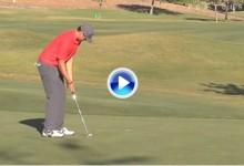 Consuelo para amateurs, los pros del PGA Tour también fallan putts de un metro (VÍDEO)