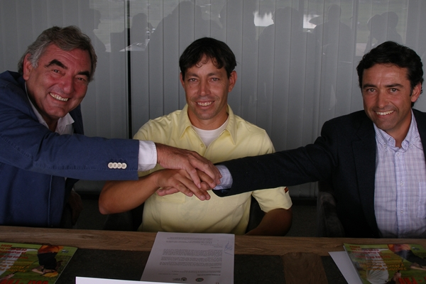 Salvardor Alvarez, David Pastor y Enrique Martin
