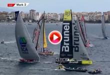 Resumen, lo mejor, de la salida de la Volvo Ocean Race. Etapa 1: Alicante-Ciudad del Cabo (VÍDEO)