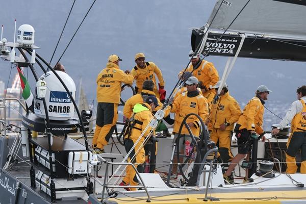 Abu Dhabi Ciudad del Cabo Foto Charlie Shoemaker-Volvo Ocean Race