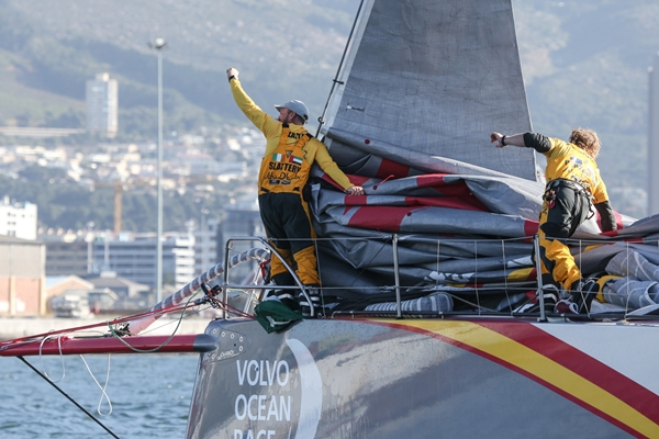 Abu Dhabi Etapa 1 Charlie Shoemaker-Volvo Ocean Race