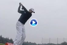 EL Tour europeo se hace una pregunta ¿Es este el mejor swing de Golf? Véalo a cámara lenta (VÍDEO)