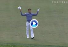 Estos son los diez mejores albatros del PGA Tour. Villegas, Franco y Els entre ellos (VÍDEO)