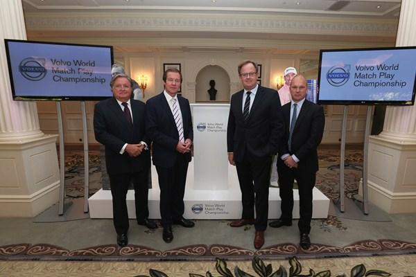 De izq. a dcha. Charles Fairweather, George OGrady, Per Ericsson y Guy Kinnings Foto: European Tour