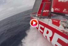 Team MAPFRE: A toda velocidad en el Atlántico Sur (VÍDEO)