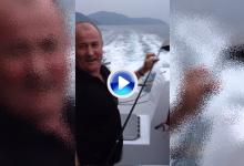 Así acabaron estos palos tras una mala ronda de golf: en el fondo del mar (VÍDEO)