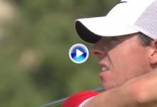 Rory McIlroy lidera en Dubai con estos espectaculares golpes (VÍDEO)