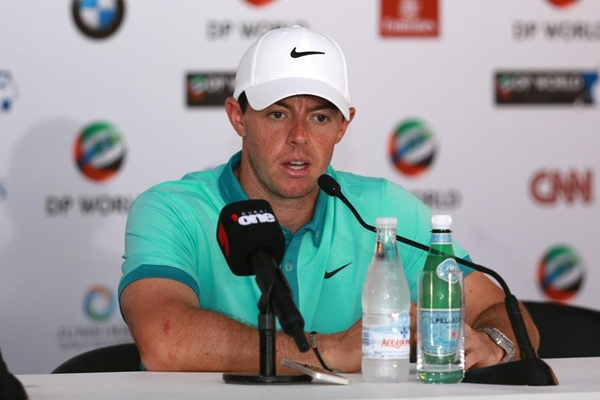 Rory McIlroy rueda de prensa en Dubai Foto @EuropeanTour