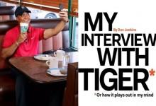 Cabreo monumental de Tiger por una parodia en forma de entrevista publicada en Golf Digest