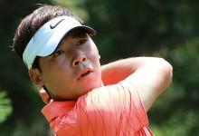 El líder del PGA Tour chino suspendido 6 meses por firmar tarjetas incorrectamente