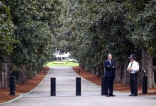 El Augusta National refuerza su seguridad en la emblemática entrada de Magnolia Lane