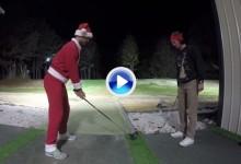 Los hermanos Bryan nos dejaron sus golpes de fantasía también en Navidad (VÍDEO)