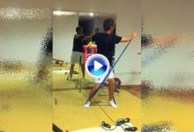 Rutina de 6 ejercicios de entrenamiento físico con gomas adaptado al Golf por Emma Segovia (VÍDEO)