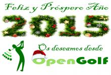 El equipo de OpenGolf les desea un Feliz Año 2015