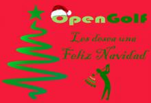 El equipo de OpenGolf les desea ¡Feliz Navidad!