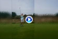 Esto es lo que ocurre cuando uno sale al campo de golf con alguna copa de más (VÍDEO)