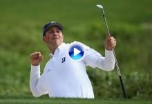 Golpe del Año PGA Tour (Nº2): Birdie de Kuchar desde el bunker en el hoyo 72 que vale un título (VÍDEO)