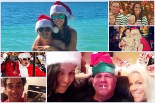 De esta forma vivió la Navidad el mundo del Golf. Twitter e Instagram testigos