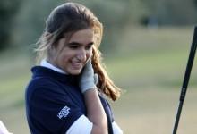 A falta de 18 hoyos, Paz Marfá consolida su liderato en el Campeonato de España Amateur Femenino