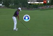 Golpe del Año PGA Tour (Nº6): Esta madera desde 260 m. le valió medio US PGA a McIlroy (VÍDEO)
