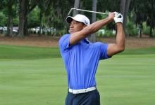 """Tiger Woods se siente """"recuperado"""" y con """"muchas ganas"""" de conseguir su quinta Chaqueta Verde"""