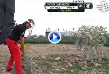 Golpe del Año PGA Tour (Nº5): Dubuisson, autor de los golpes imposibles en el Accenture (VÍDEO)