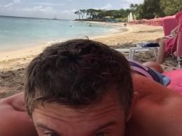 Lee Westwood, un héroe. Salvó a un hombre de morir ahogado en una playa del Caribe